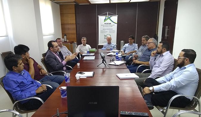Exportação de pescado e nova SEAP sao temas de reunião da PEIXE BR