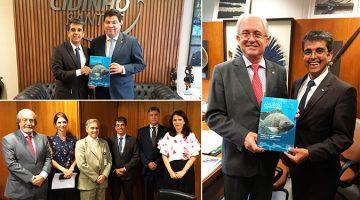 PEIXE BR busca apoio político para piscicultura voltar ao mapa