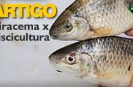 Piracema x piscicultura