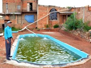 Grupo guas claras fot grafo usa piscina para salvar Piscinas para tilapias