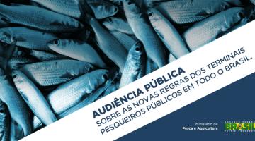 MPA disponibiliza documentos sobre Terminais Pesqueiros