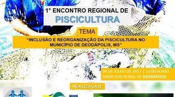 Fomento da produção de peixes será discutido com superintendente da pesca dia 04 em Deodápolis
