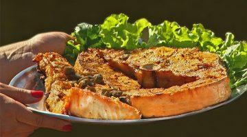 Churrasco de peixe é a receita da famosa Rua do Porto, em Piracicaba