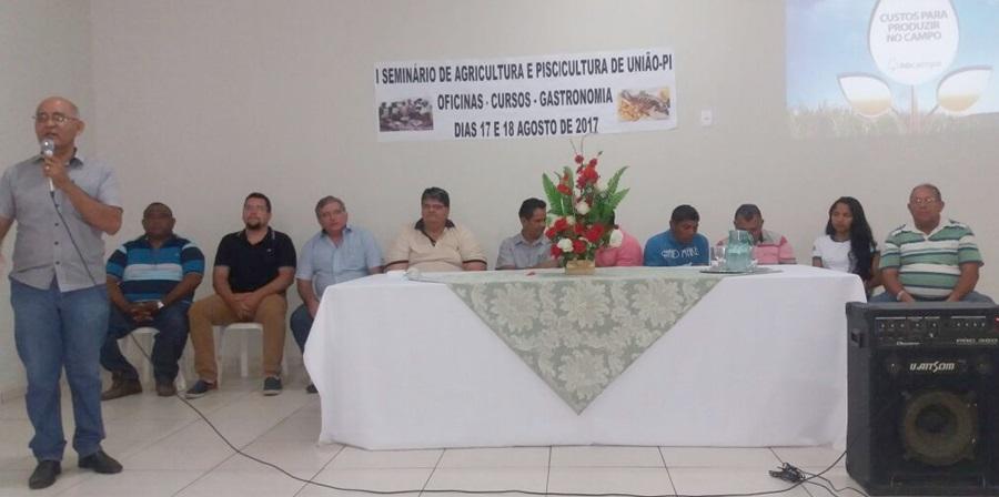 I Seminário de Agricultura Familiar e Piscicultura é realizado