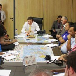 Ministro Crivella recebe reivindicações do Movimento dos Pescadores e Pescadoras Artesanais