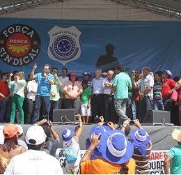 Eduardo Lopes abre o V Grito da Pesca e recebe reivindicações de pescadores