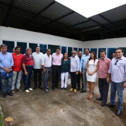 Ministro Helder visitou instalações do Terminal Pesqueiro de Belém/PA