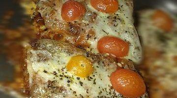 Filé de Pangasius no forno