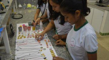 Alunos do Amapá criam biojoias a partir de espinhas de peixes